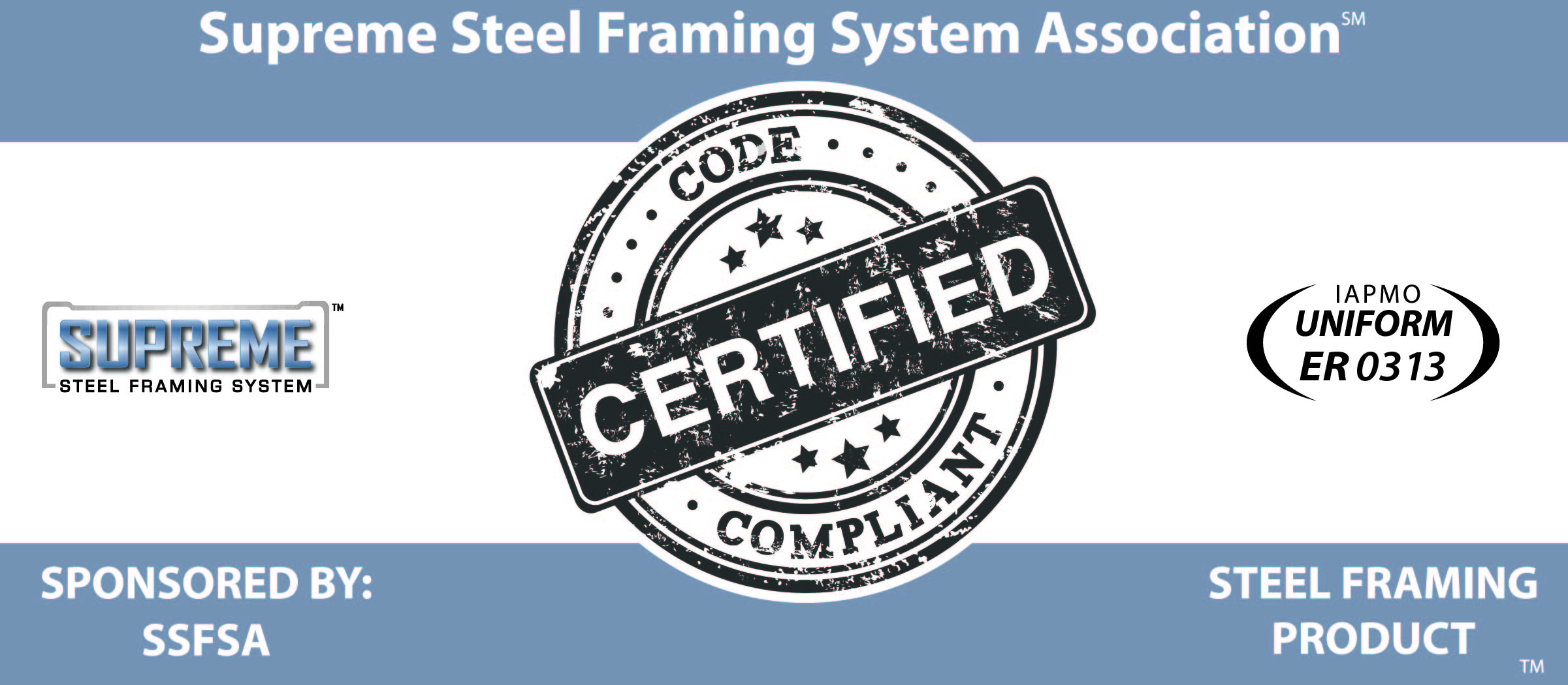 3rd Party Certification Supreme Steel Framing System Association